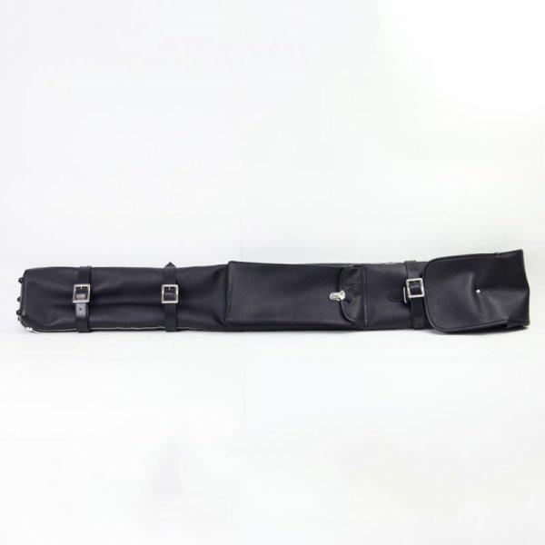 本革刀袋(8本入刀袋)楕円筒型 高級本革仕様 国内生産